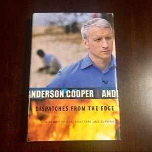 "SIGNED Anderson Cooper ""Dispatches From The Edge"""